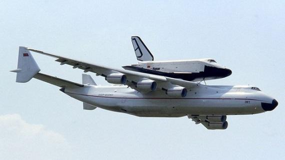 letadlo Mriya