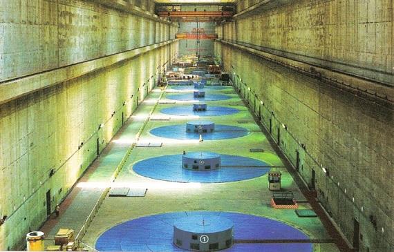 Tři Soutěsky elektrárna