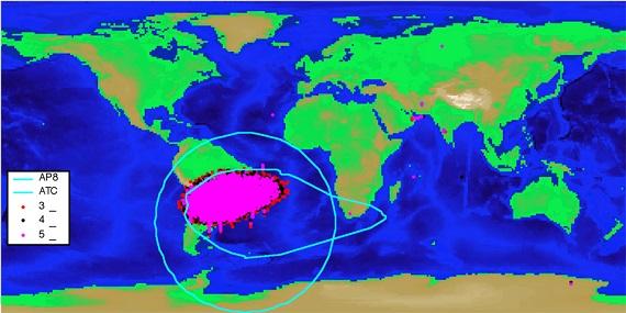 anomálie jížního Atlantiku