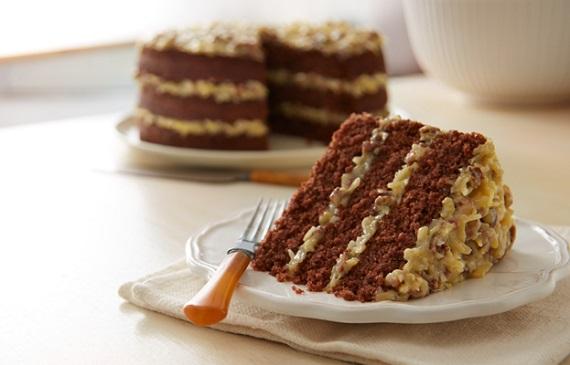Německý čokoládový dort