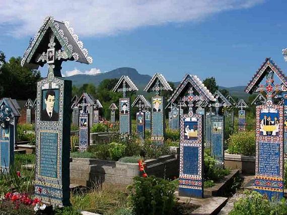 Veselé hřbitovy v Rumunsku