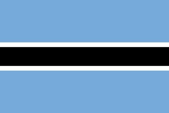 botswanská vlajka