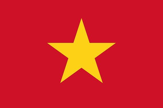 vietnamská vlajka
