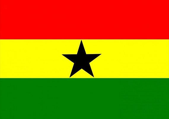 vlajka Ghany