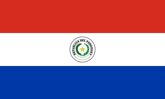 vlajka Paraguaye