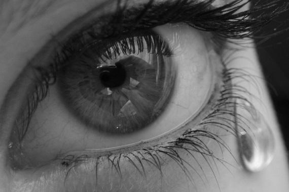 plačící oko