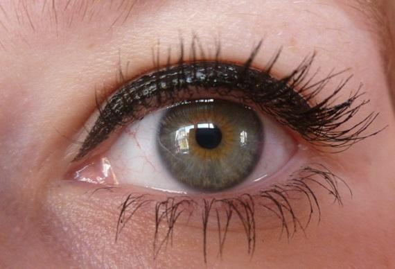 vlhké oko