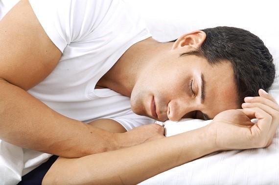 spící muž