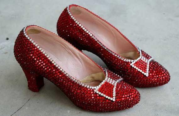 boty Ruby Slippers