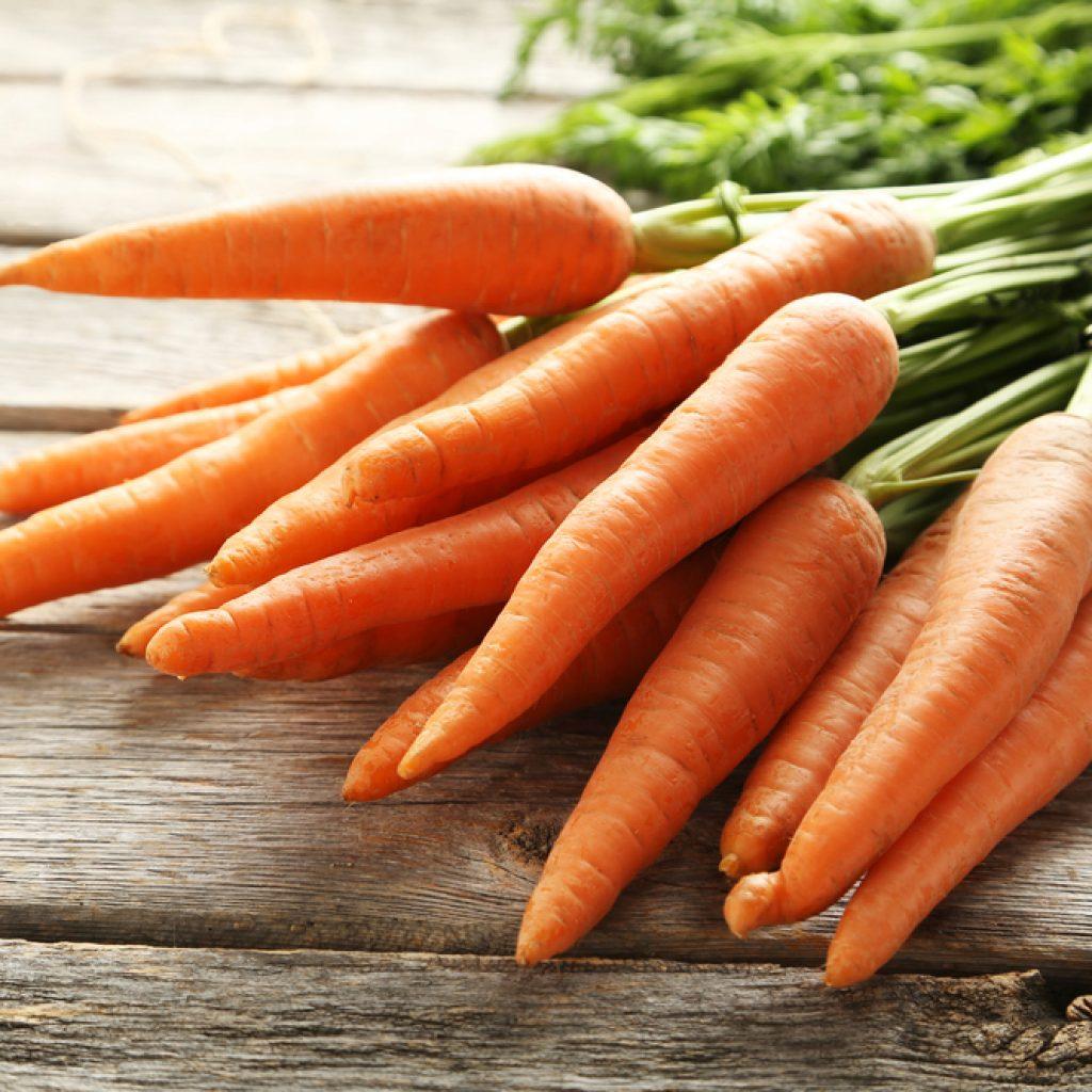 Imunitní posilování potravin - mrkev