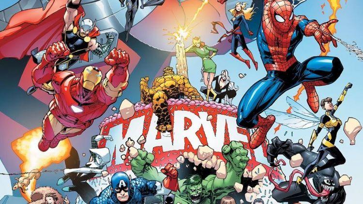 superhrdinové Marvelu běží do akce